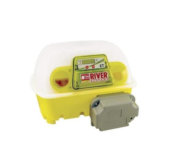 River Systems ET 12 Digitale Automatica Incubatrice Con Antibatterico Biomaster