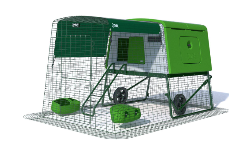 pollaio mobile Eglu Cube® - Grande pollaio